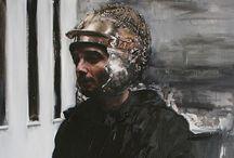 Youcef Korichi / « Traverser le miroir »   Galerie Eva Hober