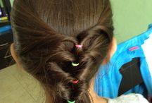 Mis peinados / Peinaditos en practica.