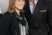 David Gandy and me (and my book) / David Gandy for autograph, M&S Paris, 25.9.14