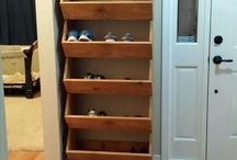 Storing shoes