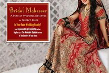 Bridal Makeover - The Nomadic Spalon / #Bridal_Makeover A Perfect Wedding Deserves A Perfect Bride Is Your Face Wedding Ready? Look #Impeccable & Exquisite On Your Big Day With #The_Nomadic_Spalon Services In The Comfort Of Your Home Do call us On 8010135135 www.thenomadicspalon.com