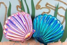 shiny shells / all that glitters under the sea
