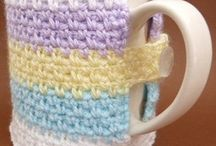 Crochet - Mug Cozies