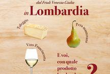 A tavola con il #SanDaniele / Con quale prodotto tipico regionale abbineresti il #Prosciutto di #SanDaniele?