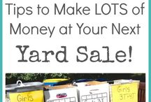 garage sale tips.