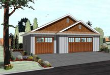 AHP | Garages / Advanced House Plans not only designs beautiful homes, but practical, stylish garages! For storage, workshops, or extra car stalls, check out our great plans!