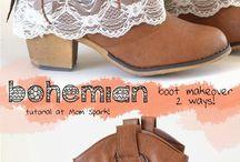 diy chaussure