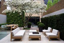 terraces, patio