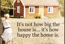 Quotes we love / Quotes about our homes that fill our hearts.