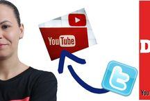 Como vincular o Twitter com YouTube