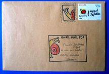 Mail Adventures / #SnailMail #MailArt #CreativeMail #HappyMail #SendMoreLetters #Envelopes #IllustratedEnvelopes #OutgoingMail #mailartenvelope #mailartinspiration