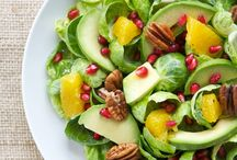 Salads/dressing / salads, dressings, food