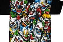 Футболки с Героями Фильмов, Ужасы, Комиксы, Клоуны / Мужские футболки с Героями Фильмов, Ужасы, Комиксы, Клоуны. Различные персонажи западной поп культуры, не вошедшие в другие альбомы.