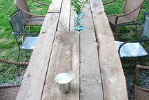 Big outdoor table