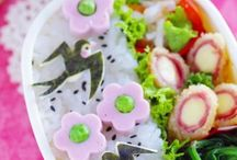 ~Pretty Bento's ~ / Bento's are little arts of food presentations in cute decorative boxes of different sizes. / by Vanessa A C Maio