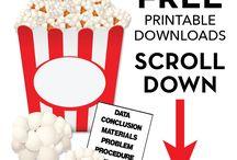 popcorn science project