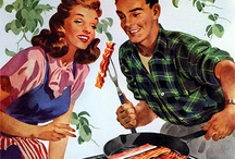 1950 bbq party