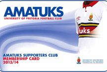 AmaTuks Fans / A board that shows our fans in their stripes