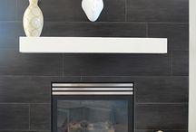 Cedar Fireplace