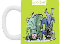 Roald Dahl Mugs / Wonderfully swishwifflingly scrumdiddlyumptious Roald Dahl Mugs!