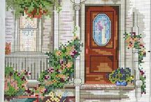 Crossstitch Door/Window