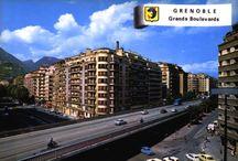 Grenoble city / Photos de Grenoble des années 1960/1970.  Grenoble pics of the 1960/70's.