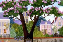 french naive art