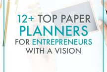 TOP PAPER PLANNERS & DIARIES