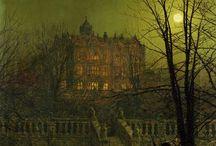 Art J.A Grimshaw and I.K. Ajvazovskij / Painters XIX Century John Atkinson Grimshaw and Ivan Konstantinovič Ajvazovskij