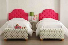 Girls Bedroom Ideas / by Janean Rogers