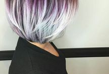 Cheveux grisés...