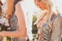 Sequined Wedding Dresses