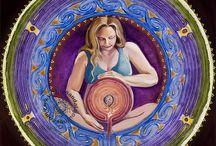 Goddess / Pagan, goddess, Göttin, Portrait, face, Woman, reference