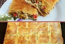 φαγητά πίτες &Σουλέ& κέικ