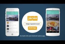 Joren / Joren is a service which you can convert your existing website into a mobile app both for iOS and Android.
