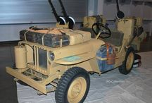SAS jeeps