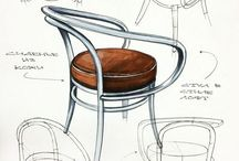 Interior sketch / sketches, drawings, illustrations, graphics