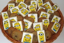 Character Cookies / Cookies designed to resemble some favorite characters from TV and Movies