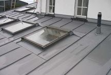Roofing solutions / A selection of different roofing materials.