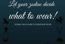 Let your Zodiac decide what to wear! / Follow your zodiac sign, and choose the best designer wear for yourself!! http://wp.me/p6qlgO-41 #designerwear #zodiac #cosmicenergy #choosethebest #followthestars