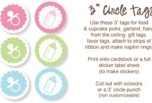 baby shower sayings & framables