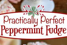 Peppermint fudge / Christmas fudge