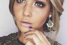 Make up eyelashes