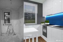 Mieszkanie Mileny i Kuby / projekt wnetrz projekt mieszkania nowoczesne słupca architekt #projekt #wnetrz #projekt #mieszkania #nowoczesne #słupca #architekt