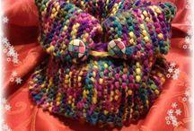Maglie ed Uncinetto....per un Scaldacollo / Un amore.....fatto a maglia!