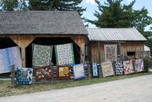 QUILTS at the Creek / Exhibition of wonderful quilts hosted by the Canadian Quilters' Association