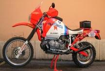 motos Paris-Dakar