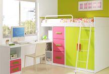 Poco espacio dormitorios / Dormitorios infantiles