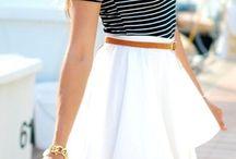 Outfits med nederdele