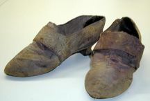 18th century silk shoes